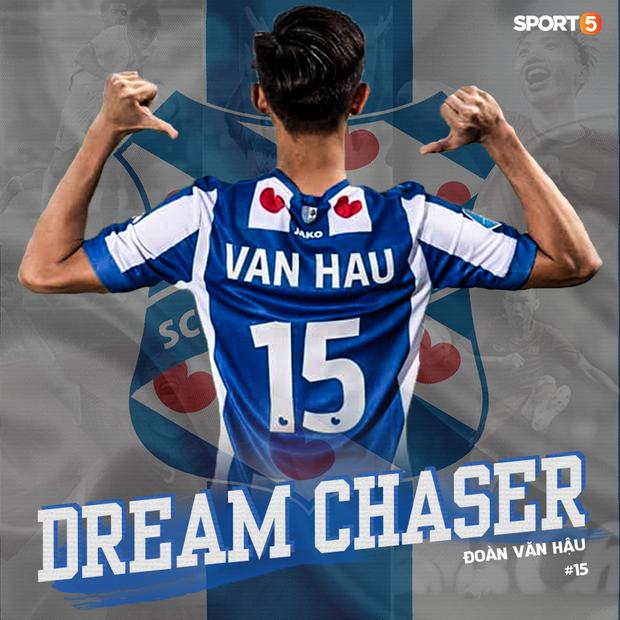 Đoàn Văn Hậu: Đôi giày Dream Chaser và chàng trai dám biến giấc mơ thành sự thật - Ảnh 1.
