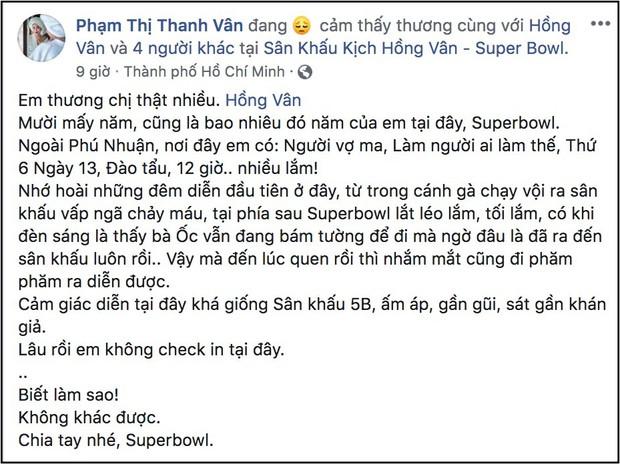 MC Đại Nghĩa, Ốc Thanh Vân cùng nhiều nghệ sĩ nghẹn ngào khi NSND Hồng Vân phải đóng cửa sân khấu kịch vì thua lỗ - Ảnh 2.