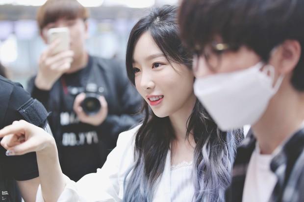 5 sao Hàn ngoài đời đẹp siêu thực đến nỗi fan đứng hình: Jin quá thần thánh, Suzy và Taeyeon ai đỉnh hơn? - Ảnh 8.
