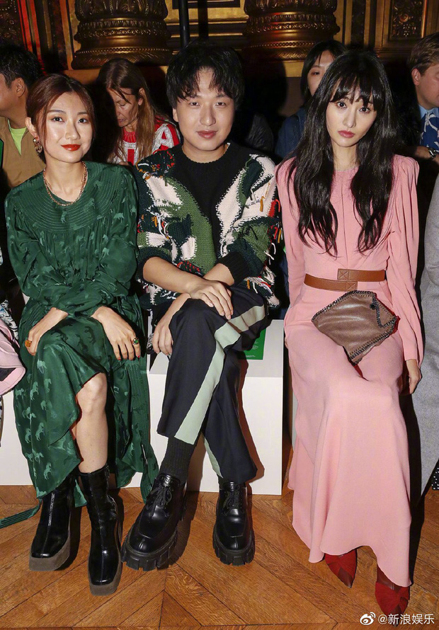 Dự Paris Fashion Week, Trịnh Sảng – Thẩm Nguyệt cùng gây thất vọng: người héo hon xơ xác, người chọn sai đồ tự tặng cho mình vài kg - Ảnh 3.