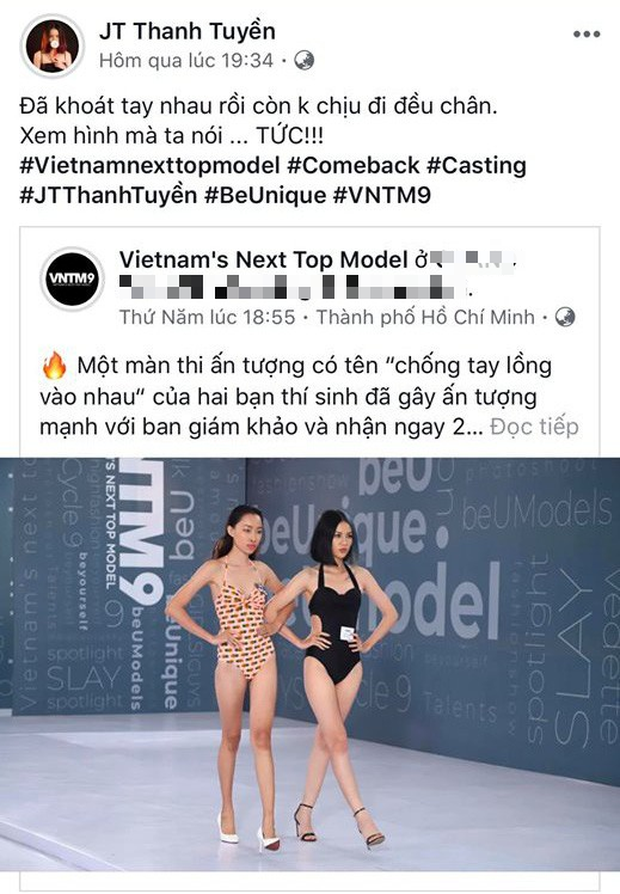 Mới chị chị em em, 2 thí sinh Next Top Model đã trở mặt, đấu khẩu gay gắt trên mạng xã hội - Ảnh 2.