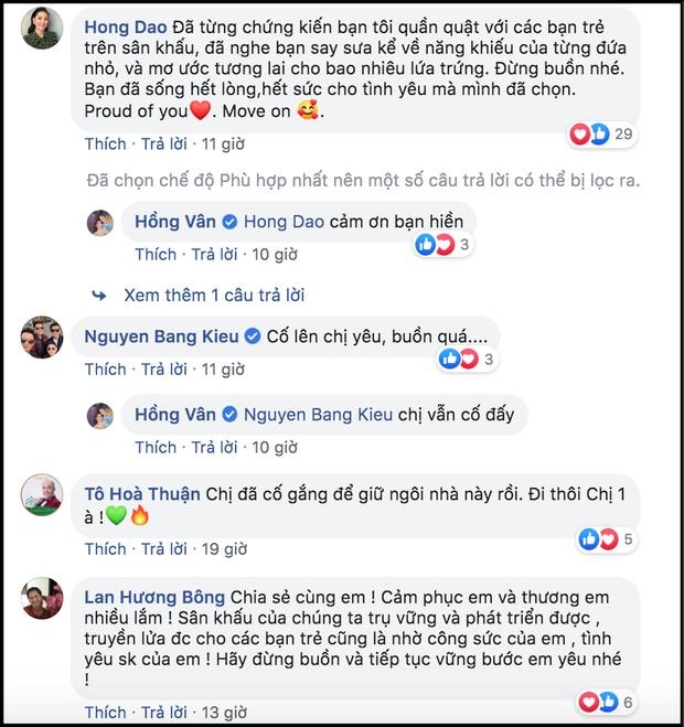 MC Đại Nghĩa, Ốc Thanh Vân cùng nhiều nghệ sĩ nghẹn ngào khi NSND Hồng Vân phải đóng cửa sân khấu kịch vì thua lỗ - Ảnh 4.