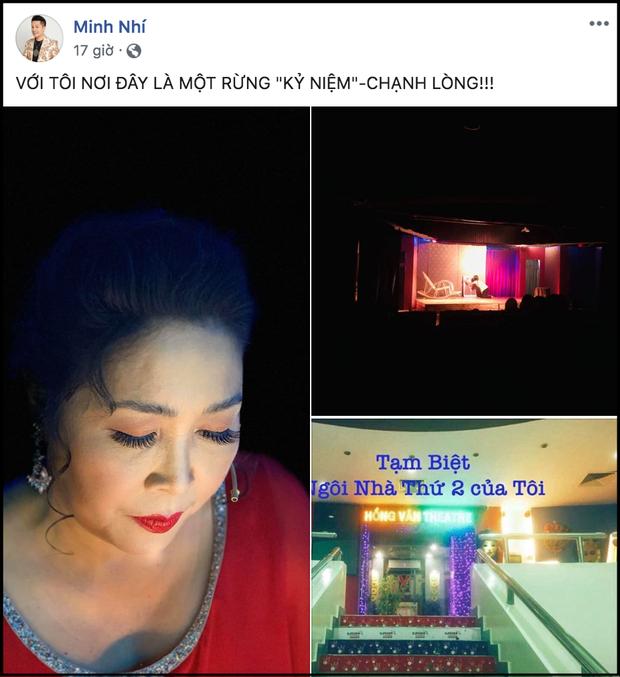 MC Đại Nghĩa, Ốc Thanh Vân cùng nhiều nghệ sĩ nghẹn ngào khi NSND Hồng Vân phải đóng cửa sân khấu kịch vì thua lỗ - Ảnh 3.