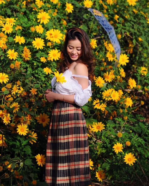 """Rực rỡ khắp newsfeed 9 cung đường săn hoa dã quỳ đẹp nhất Đà Lạt: Ơn giời, """"mùa vàng"""" của hội sống ảo đây rồi! - Ảnh 4."""