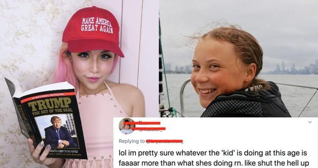 Đăng đàn cà khịa công khai Greta Thunberg, hotgirl instagram bị dân mạng cho hiểu thế nào là nghiệp quật - Ảnh 3.