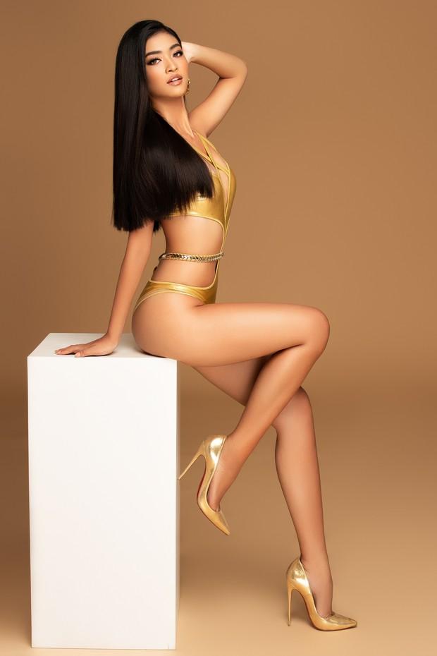 Á hậu Kiều Loan lột xác ngoạn mục với bikini bốc lửa, chuẩn bị lên đường đến Venezuela thi Hoa hậu Hòa bình - Ảnh 1.