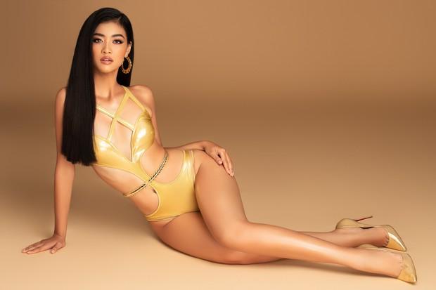 Á hậu Kiều Loan lột xác ngoạn mục với bikini bốc lửa, chuẩn bị lên đường đến Venezuela thi Hoa hậu Hòa bình - Ảnh 2.
