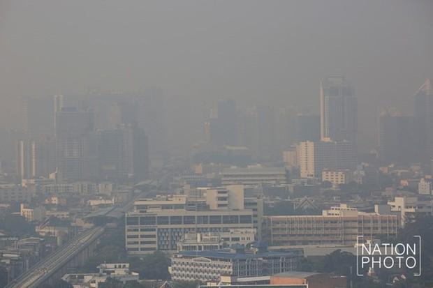 Bangkok ô nhiễm không khí thứ 2 thế giới, sau Hà Nội - Ảnh 1.