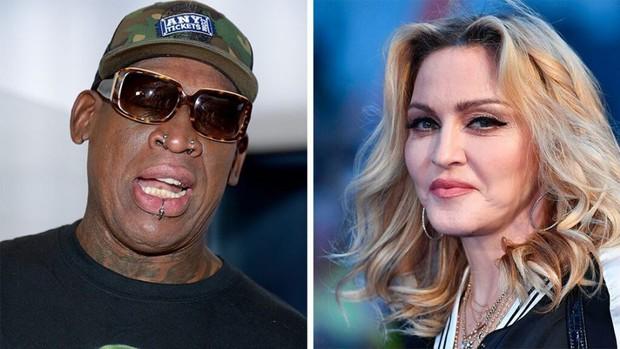 Những bóng hồng bốc lửa trong lịch sử tình trường của Dennis Rodman: Được Madonna cho tiền tấn để có con, cặp cả siêu mẫu Playboy - Ảnh 2.