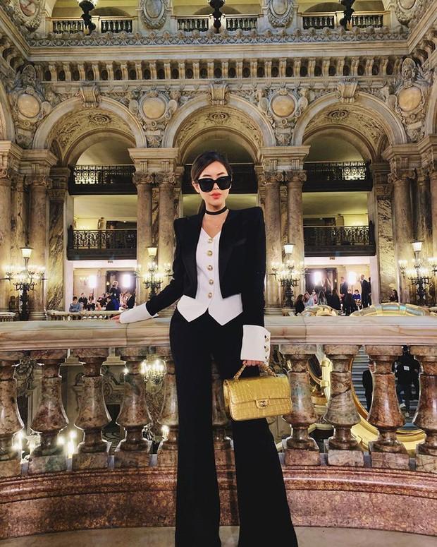 Dát đồ hiệu từ đầu đến chân, rich kid Thảo Tiên lọt ngay top ảnh street style đẹp nhất Paris Fashion Week - Ảnh 1.