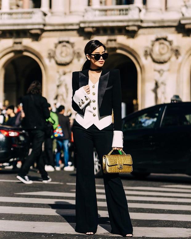Dát đồ hiệu từ đầu đến chân, rich kid Thảo Tiên lọt ngay top ảnh street style đẹp nhất Paris Fashion Week - Ảnh 2.