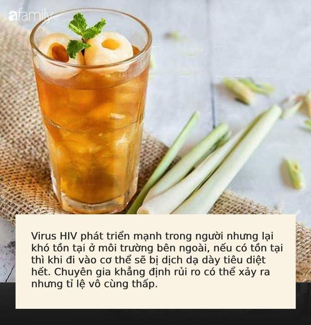 Uống cốc trà vải chứa băng keo cá nhân đã qua sử dụng, khách hàng phải dùng thuốc chống phơi nhiễm HIV: Bác sĩ nói gì? - Ảnh 3.