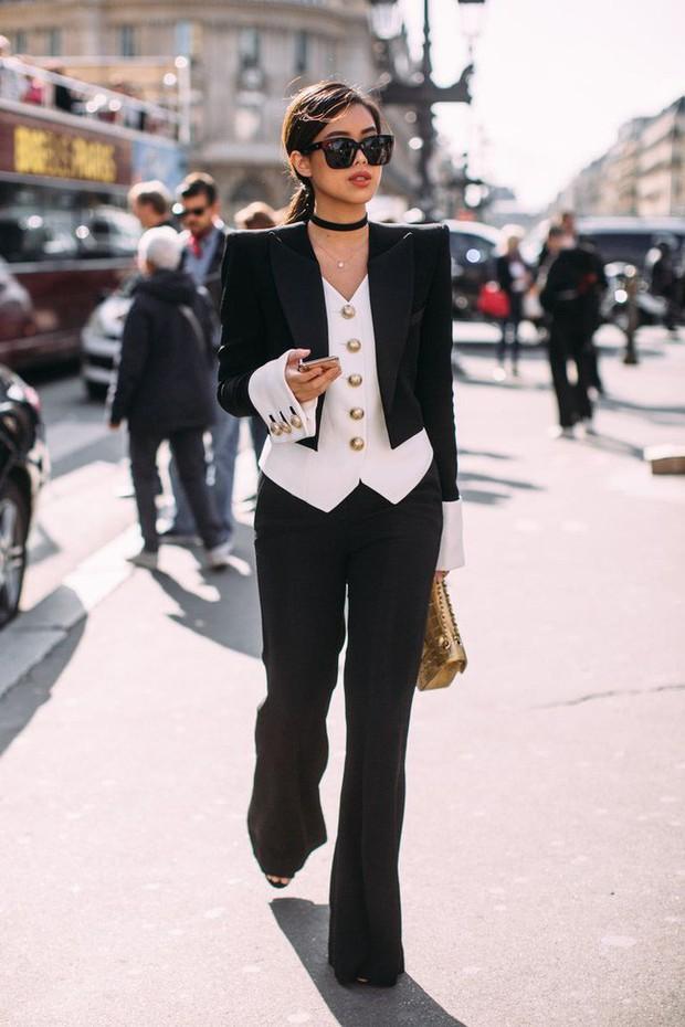 Dát đồ hiệu từ đầu đến chân, rich kid Thảo Tiên lọt ngay top ảnh street style đẹp nhất Paris Fashion Week - Ảnh 4.