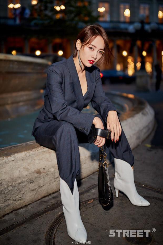 Trương Gia Nghê - nàng thơ châu Á tại Paris Fashion Week: Bánh bèo hay cool ngầu đều toát lên khí chất lu mờ vạn vật - Ảnh 6.