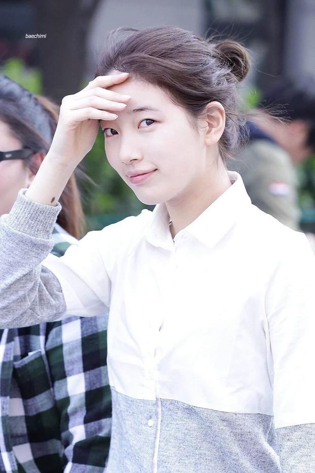 5 sao Hàn ngoài đời đẹp siêu thực đến nỗi fan đứng hình: Jin quá thần thánh, Suzy và Taeyeon ai đỉnh hơn? - Ảnh 6.