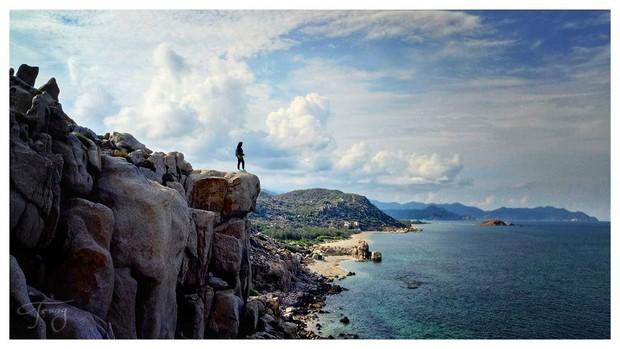 Ninh Thuận xuất hiện công viên đá với đủ loại hình thù kỳ lạ, nhìn ảnh check-in chỉ biết thốt lên: Trông nguy hiểm thế? - Ảnh 6.