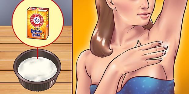 8 mẹo trị thâm vùng da dưới cánh tay giúp con gái không còn khổ sở với tình trạng nách thâm đen - Ảnh 2.