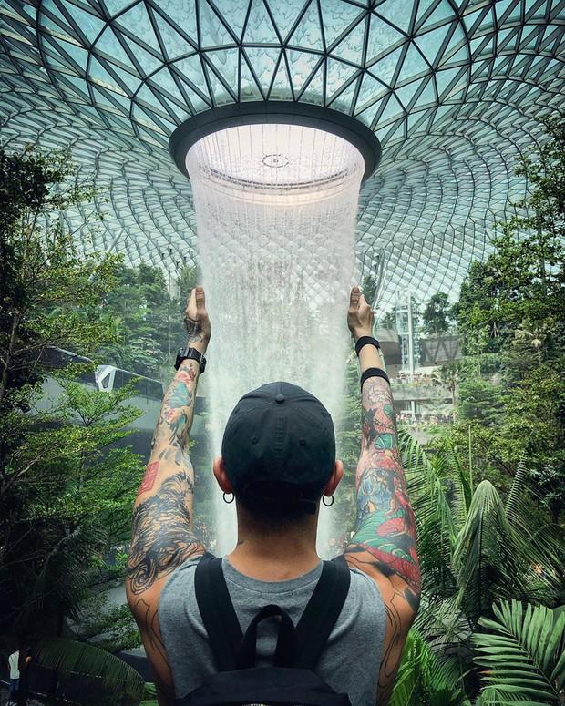Trọn bộ cẩm nang chụp ảnh mà không lo dính người ở Jewel Changi Airport (Singapore), chỉ cần làm theo là đảm bảo có hình ngàn like! - Ảnh 8.