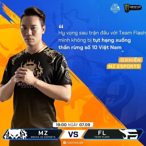 Cả nền Liên Quân Mobile Việt đang chờ trận thư hùng kinh điển giữa Team Flash và Mocha ZD Esports - Ảnh 6.