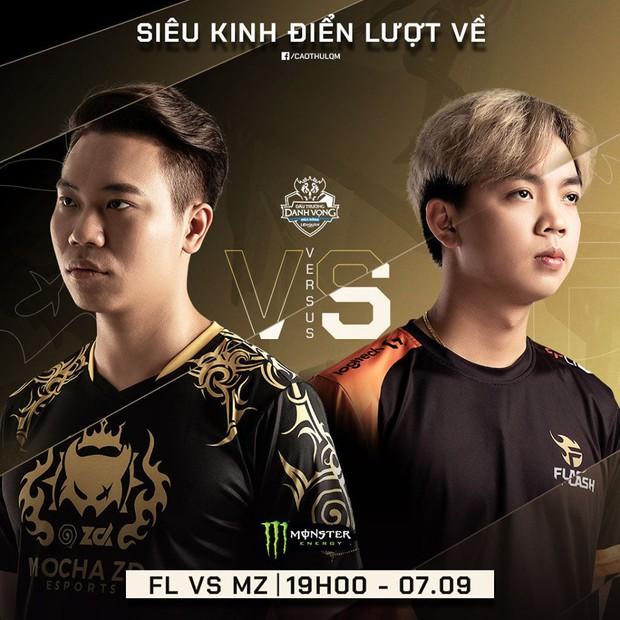 Cả nền Liên Quân Mobile Việt đang chờ trận thư hùng kinh điển giữa Team Flash và Mocha ZD Esports - Ảnh 1.