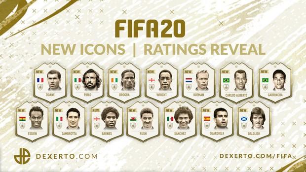 EA công bố tất cả các thẻ ICON mới trong FIFA 20, đây là 5 cái tên giá trị và được nhiều người chờ đợi nhất! - Ảnh 1.
