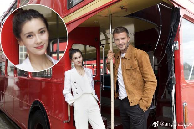 Khoe ảnh chụp với David Beckham nhưng Angela Baby bị photoshop như hotgirl mạng, ảnh gốc còn đáng sợ hơn - Ảnh 5.