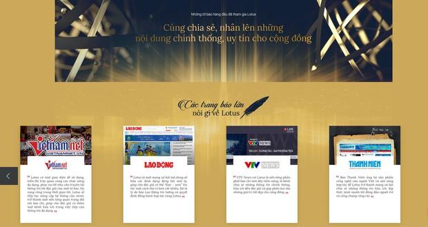 27 cơ quan báo chí hàng đầu Việt Nam tham gia Lotus và đây là những gì họ nói về MXH này - Ảnh 2.