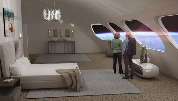 Thiết kế khách sạn tương lai lơ lửng trên vũ trụ này đã đủ khiến bạn đứng hình mê mẩn hay chưa? - Ảnh 4.