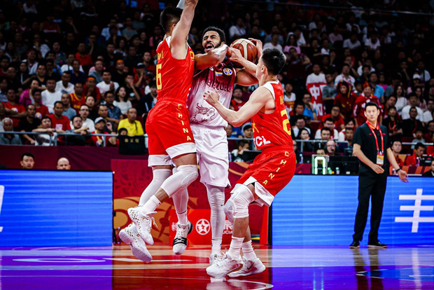 Thất thủ trước Venezuela, chủ nhà Trung Quốc tức tưởi xuống vòng đấu phân hạng FIBA World Cup 2019 - Ảnh 3.