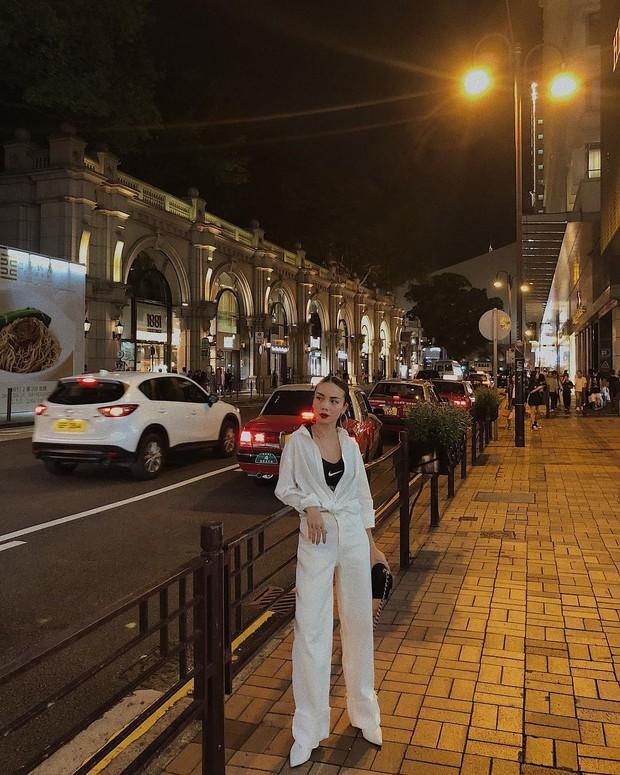 Nàng công sở không bao giờ lo mặc xấu nếu biết 12 công thức diện áo sơ mi trắng tuyệt xinh từ các mỹ nhân Việt - Ảnh 9.