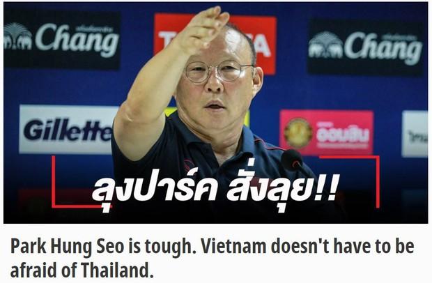 Báo Thái Lan mô tả thầy Park bằng từ này sau buổi họp báo căng thẳng - Ảnh 1.