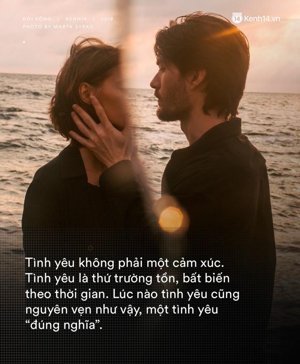 Những điều khiến chúng ta thường lầm tưởng trong tình yêu: Nó không làm chúng ta hòa làm một, mà khiến hai người đứng cạnh nhau hạnh phúc - Ảnh 3.