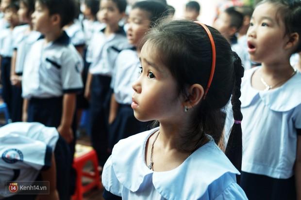 5 siêu nhân nhí trong ca sinh năm đầu tiên ở Việt Nam lém lỉnh ngày khai giảng: Xin chào lớp 1! - Ảnh 21.