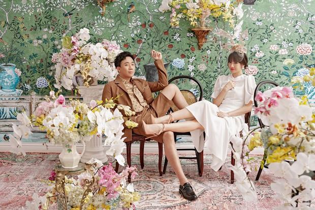 Trấn Thành và Hari Won tung bộ ảnh tình tứ như thuở mới yêu, ngày càng hạnh phúc sau gần 3 năm kết hôn - Ảnh 3.