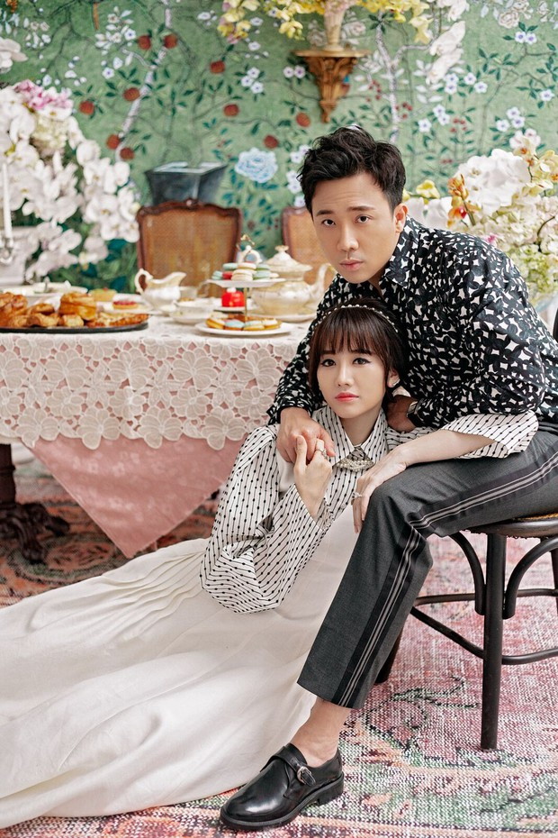 Trấn Thành và Hari Won tung bộ ảnh tình tứ như thuở mới yêu, ngày càng hạnh phúc sau gần 3 năm kết hôn - Ảnh 7.