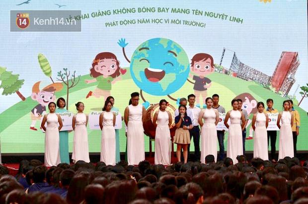Lễ khai giảng của cô bé lớp 6 gửi thư tới 40 trường học ở Hà Nội: Mình có thể đừng thả bóng bay vào hôm khai giảng không? - Ảnh 3.