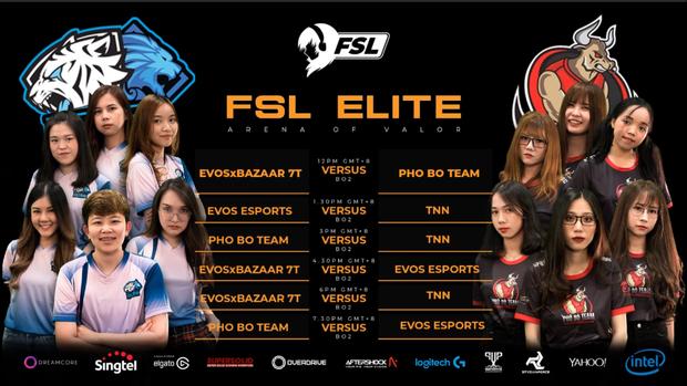 Những cô gái Phố Bò Team bất bại trong ngày thi đấu đầu tiên của giải Liên Quân Mobile nữ (FSL Elite) tại Singapore - Ảnh 5.