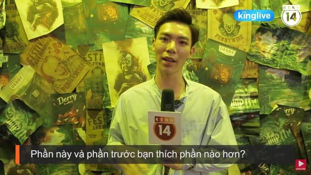 Clip: Khán giả Việt hãi hùng với Gã Hề Ma Quái, phim dài nên ai cũng khuyên thủ sẵn 2 cái bỉm! - Ảnh 8.