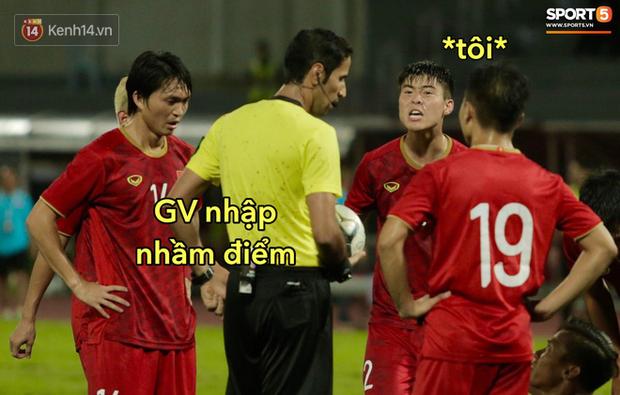Loạt ảnh chế đội tuyển Việt Nam nở rộ sau trận gặp Thái Lan: Văn Toàn, Duy Mạnh cùng loạt biểu cảm không thể nào đắt giá hơn! - Ảnh 1.
