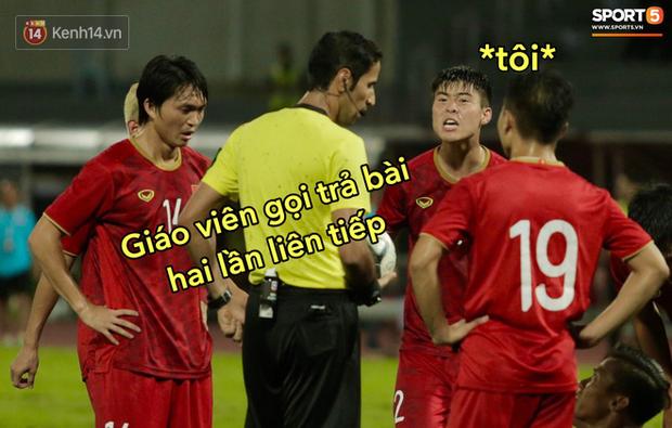 Loạt ảnh chế đội tuyển Việt Nam nở rộ sau trận gặp Thái Lan: Văn Toàn, Duy Mạnh cùng loạt biểu cảm không thể nào đắt giá hơn! - Ảnh 3.