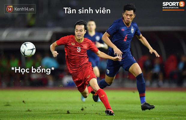 Loạt ảnh chế đội tuyển Việt Nam nở rộ sau trận gặp Thái Lan: Văn Toàn, Duy Mạnh cùng loạt biểu cảm không thể nào đắt giá hơn! - Ảnh 5.
