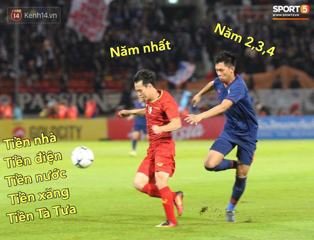 Loạt ảnh chế đội tuyển Việt Nam nở rộ sau trận gặp Thái Lan: Văn Toàn, Duy Mạnh cùng loạt biểu cảm không thể nào đắt giá hơn! - Ảnh 7.