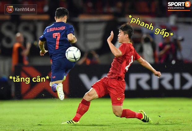 Loạt ảnh chế đội tuyển Việt Nam nở rộ sau trận gặp Thái Lan: Văn Toàn, Duy Mạnh cùng loạt biểu cảm không thể nào đắt giá hơn! - Ảnh 17.