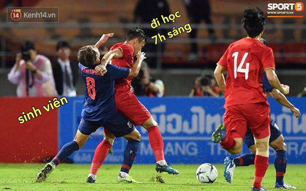 Loạt ảnh chế đội tuyển Việt Nam nở rộ sau trận gặp Thái Lan: Văn Toàn, Duy Mạnh cùng loạt biểu cảm không thể nào đắt giá hơn! - Ảnh 22.