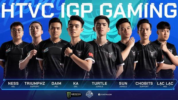 Đấu trường Danh vọng mùa Đông: Team Flash bị soán ngôi đầu bởi ngựa ô HTVC IGP Gaming - Ảnh 1.