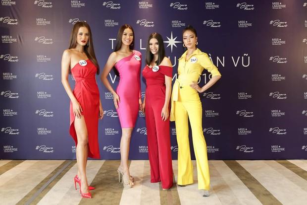 Xài lại SBD của Mâu Thủy, Hương Ly sẽ làm nên chuyện như đàn chị tại Hoa hậu Hoàn vũ Việt Nam? - Ảnh 2.