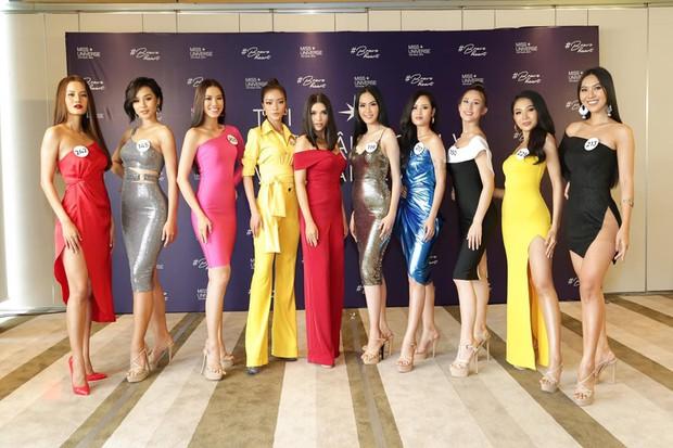 Xài lại SBD của Mâu Thủy, Hương Ly sẽ làm nên chuyện như đàn chị tại Hoa hậu Hoàn vũ Việt Nam? - Ảnh 6.