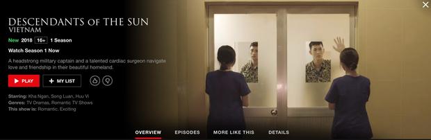 Hậu Duệ Mặt Trời bản Việt trở thành phim truyền hình Việt Nam đầu tiên lên kệ Netflix - Ảnh 4.