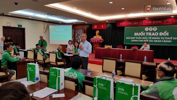 Tài xế GrabBike ở Sài Gòn làm đơn kiến nghị thay đổi định danh ngành nghề để giảm thuế TNCN - Ảnh 4.