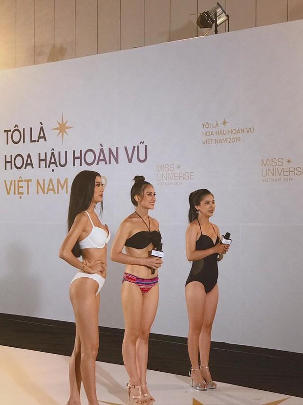 Lộ ảnh body chưa photoshop của Thúy Vân, Hương Ly và dàn thí sinh casting Hoa hậu Hoàn vũ: Ai đáng gờm nhất? - Ảnh 1.
